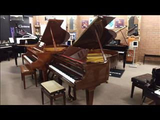 Pleyel ~ 175cm Walnut Polished Grand Piano