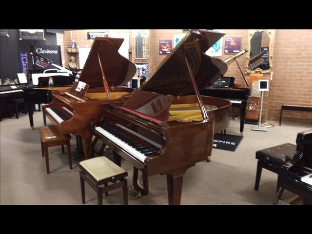 Pleyel ~ 175cm Walnut Polished Grand Piano
