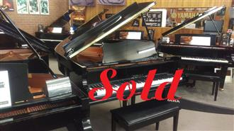 Sold ~ Yamaha GC1 PE (2002) 161cm Grand Piano Polished Ebony Ser No #6000161~ Made in Japan