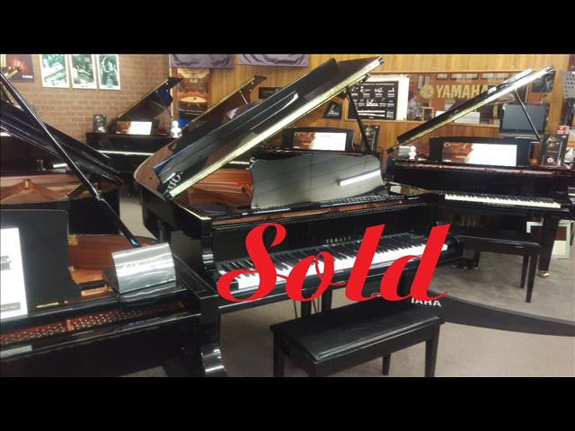 Sold ~ Yamaha GC1 PE (2002) 161cm Grand Piano Polished Ebony Ser No #6000161~ Made in Japan