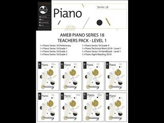 Piano Series 18 Teacher Pack - Level 1