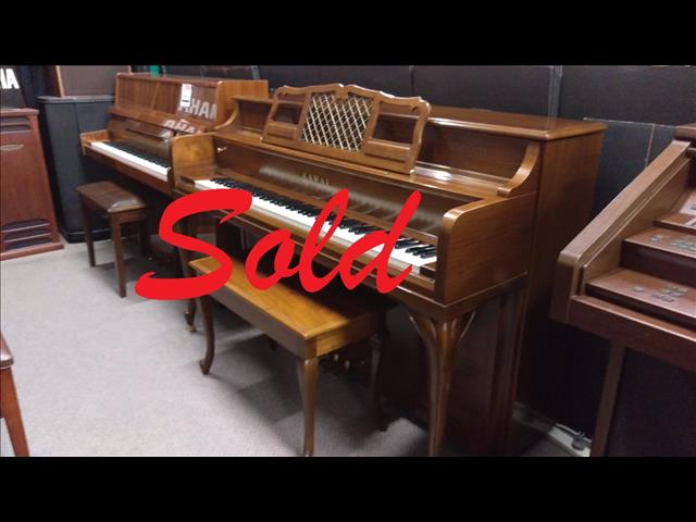 Kawai ~ French Provincial Console Now Sold