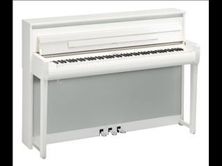 Yamaha Clavinova Digital Piano CLP685 -  Polished White