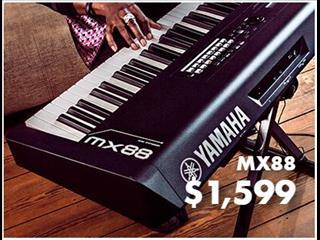 Yamaha MX88 Note Keyboard Synth