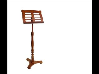 Walnut Wooden Music Stand