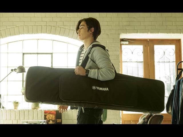 Soft Gig Bag Stand for Yamaha P Series P125 Portable Digital Piano