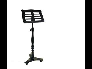 Black Wooden Music Stand