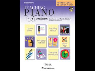 Teaching Piano Adventures Primer Level Teacher Guide - Second Edition