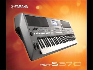 Yamaha PSRS 670  Arranger Workstation Keyboard