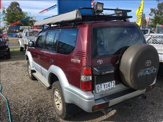 1997  Toyota Landcruiser Prado   Wagon