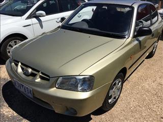 2001  Hyundai Accent GL LC Hatchback