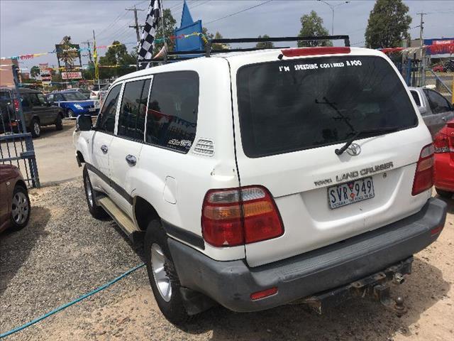 2000  Toyota Landcruiser GXL FZJ105R Wagon