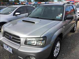 2004  Subaru Forester XT 79V Wagon
