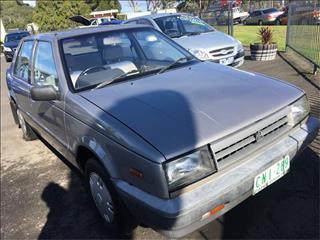 1985  Holden Gemini  TG Sedan