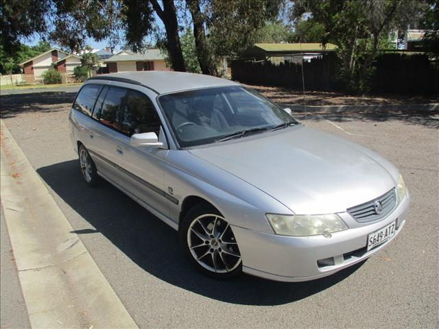 2002 HOLDEN COMMODORE EXECUTIVE VY 4D WAGON