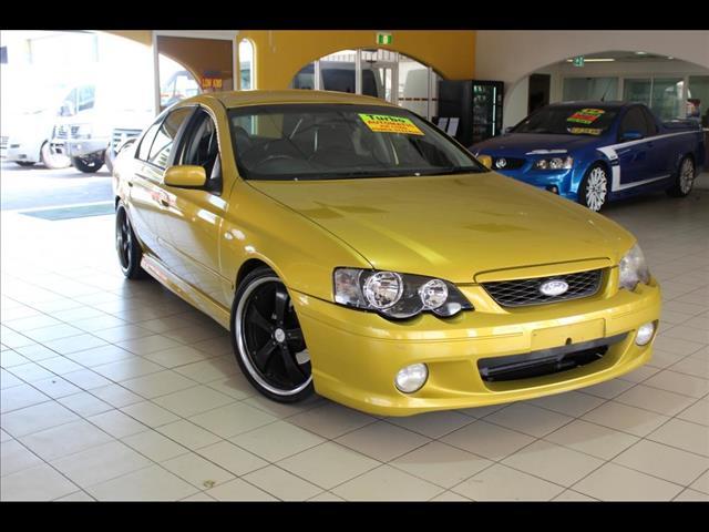 2002 FORD FALCON XR6 TURBO BA sedan