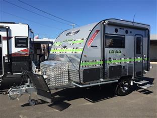 NEW 2017 Legend Kickback 13' Offroad Caravan