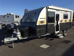 EX DEMO Legend Ground Breaker 18'6 Offroad Caravan