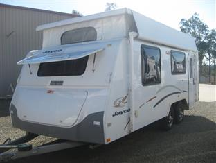 JAYCO DISCOVERY POPTOP.   Model 2010