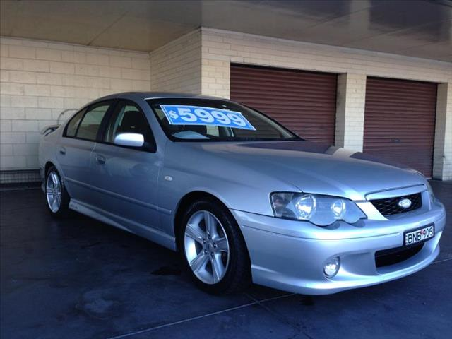 2005  FORD FALCON XR6 BA MKII 4D SEDAN