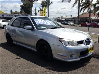 2007  SUBARU IMPREZA RS (AWD) MY07 5D HATCHBACK