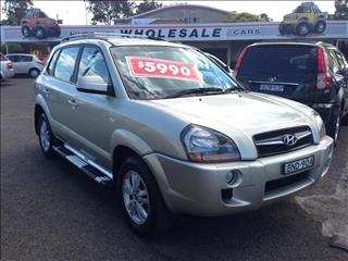 2009  HYUNDAI TUCSON CITY SX 08 UPGRADE 4D WAGON
