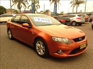 2011  FORD FALCON XR6 FG UPGRADE 4D SEDAN