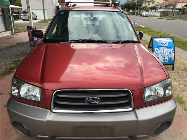 2004 SUBARU FORESTER XS MY04 4D WAGON