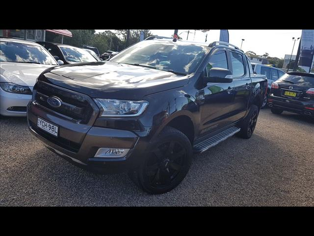 2015 FORD RANGER WILDTRAK 3.2 4X4 PX MKII DUAL CAB PUP
