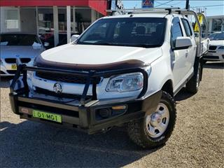 2016  Holden Colorado LS RG Cab Chassis