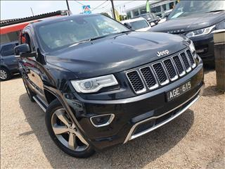 2014  Jeep Grand Cherokee Overland WK Wagon