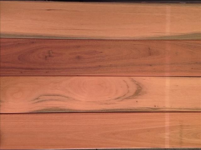 Red Mahogany Australian Decking Wide Board 130x19