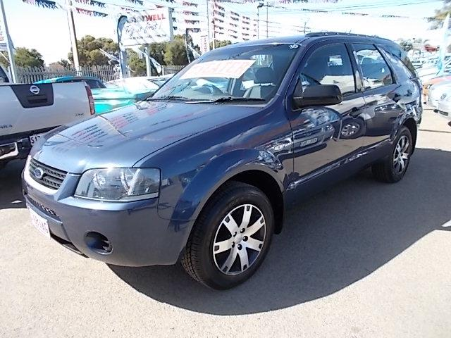 2008 FORD TERRITORY SR (4x4) SY 4D WAGON