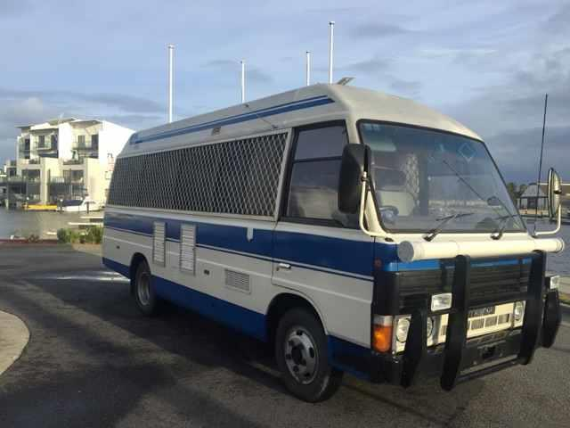 1996 MAZDA T3500 HIGH ROOF BUS