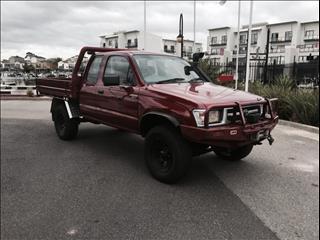 2000 TOYOTA HILUX (4x4) LN172R X CAB C/CHAS