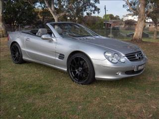 2003 MERCEDES-BENZ SL500 R230 2D CONVERTIBLE