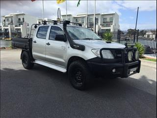 2011 TOYOTA HILUX SR (4x4) KUN26R MY11 UPGRADE DUAL C/CHAS