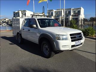 2007 FORD RANGER XL (4x4) PJ 07 UPGRADE DUAL C/CHAS