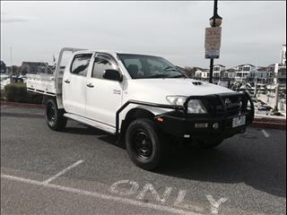 2009 TOYOTA HILUX SR (4x4) KUN26R 09 UPGRADE DUAL CAB P/UP
