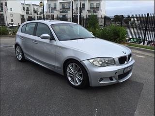 2007 BMW 1 20i E87 MY07 UPGRADE 5D HATCHBACK