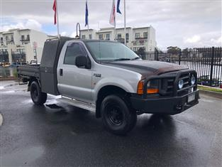 2002 FORD F250 XL (4x4) RM C/CHAS