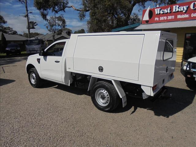 2012 FORD RANGER XL HI-RIDER PX CAB CHASSIS