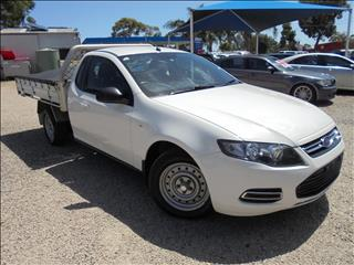 2012 FORD FALCON UTE ECOLPI FG MkII CAB CHASSIS