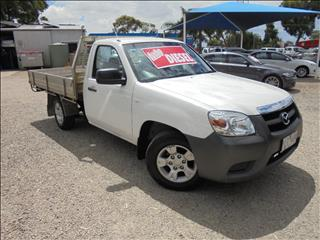 2011 MAZDA BT-50 DX UN CAB CHASSIS