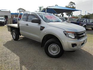 2012 FORD RANGER XL PX CAB CHASSIS