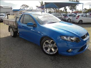 2010 FORD FALCON UTE XR6 FG CAB CHASSIS