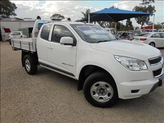 2015 HOLDEN COLORADO LS RG CAB CHASSIS
