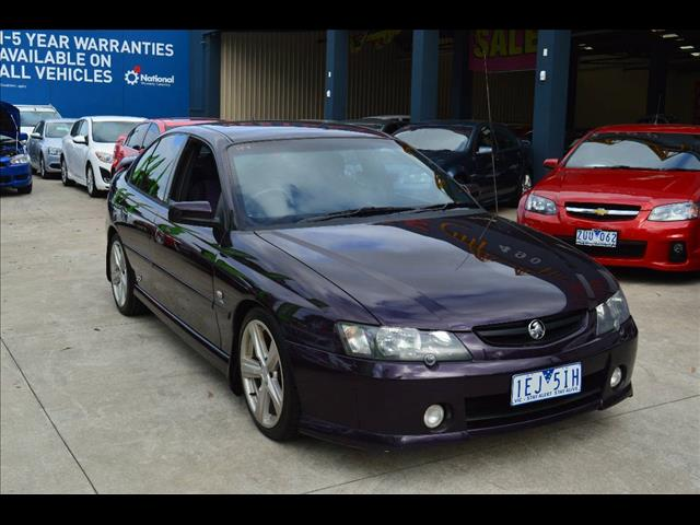 2004 HOLDEN COMMODORE SS VYII 4D SEDAN