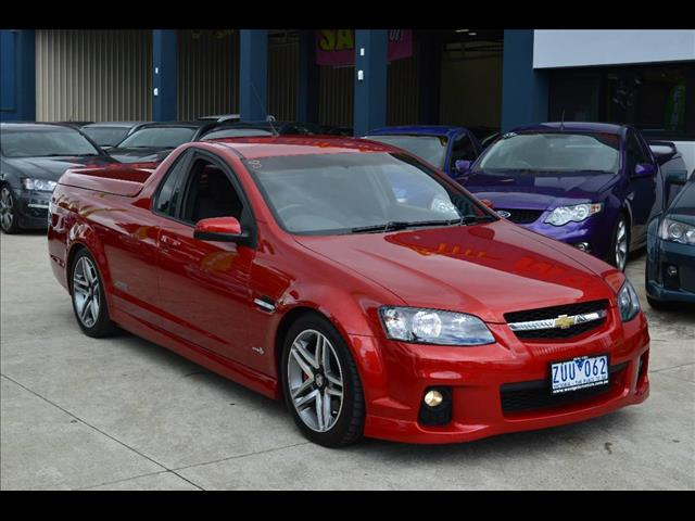 2010 HOLDEN COMMODORE SS VE II UTILITY