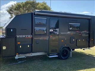 2019 On The Move Caravans Vortex Black Edition
